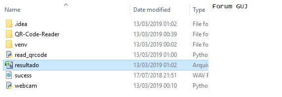 RESOLVIDO] Ler QR Code usando Python - Python - GUJ